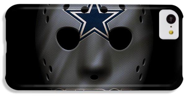 Cowboys War Mask 2 IPhone 5c Case by Joe Hamilton