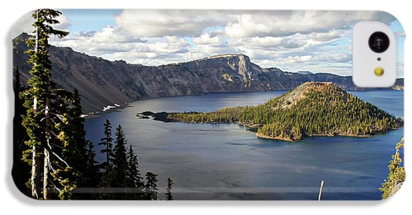 Crater Lake - Intense Blue Waters And Spectacular Views IPhone 5c Case by Christine Till