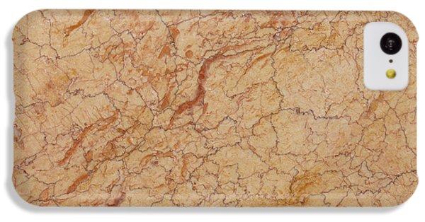 Crema Valencia Granite IPhone 5c Case by Anthony Totah