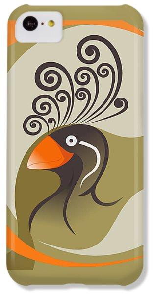 crestedAUKLET IPhone 5c Case by Mariabelones ART
