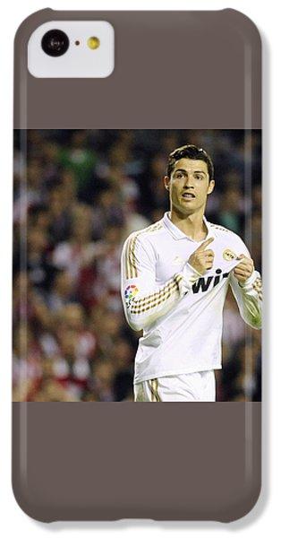 Cristiano Ronaldo 4 IPhone 5c Case by Rafa Rivas