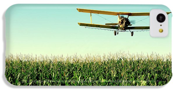 Crops Dusted IPhone 5c Case by Todd Klassy