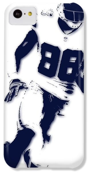 Dallas Cowboys Dez Bryant IPhone 5c Case by Joe Hamilton