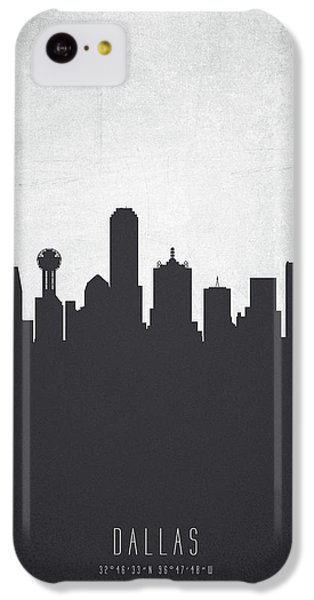 Dallas Texas Cityscape 19 IPhone 5c Case by Aged Pixel