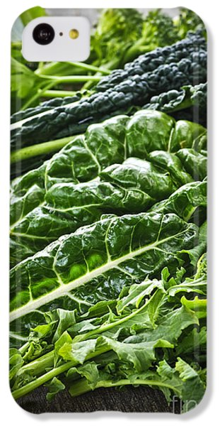 Dark Green Leafy Vegetables IPhone 5c Case by Elena Elisseeva