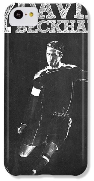 David Beckham IPhone 5c Case by Semih Yurdabak