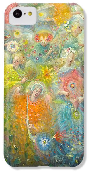 Daydream After The Music Of Max Reger IPhone 5c Case by Annael Anelia Pavlova