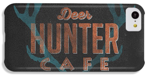 Deer Hunter Cafe IPhone 5c Case by Edward Fielding