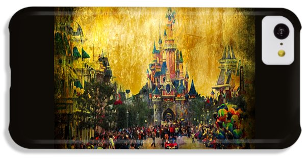 Disney World IPhone 5c Case by Svetlana Sewell
