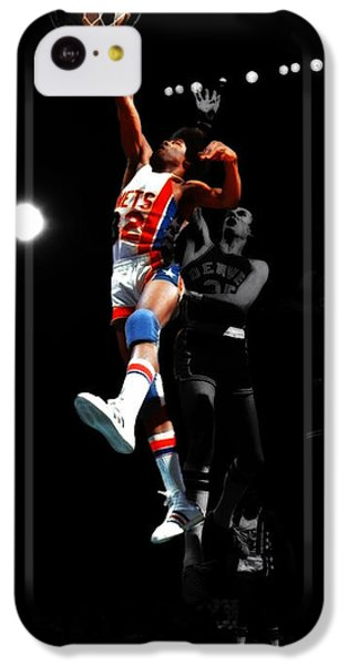 Doctor J Over The Top IPhone 5c Case by Brian Reaves