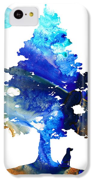 Dog Art - Contemplation - By Sharon Cummings IPhone 5c Case by Sharon Cummings