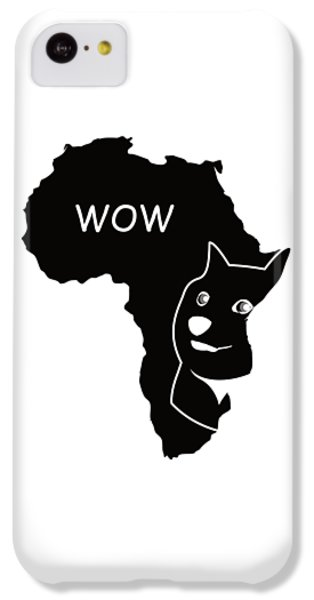 Dogecoin In Africa IPhone 5c Case by Michael Jordan