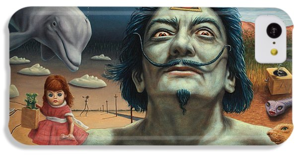 Dolly In Dali-land IPhone 5c Case by James W Johnson
