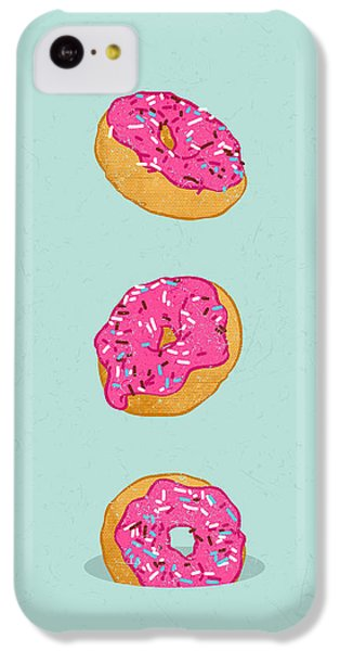 Doughnuts IPhone 5c Case by Evgenia Chuvardina