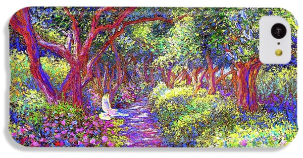 Dove And Healing Garden IPhone 5c Case by Jane Small