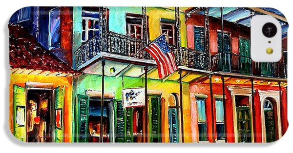 Down On Bourbon Street IPhone 5c Case by Diane Millsap