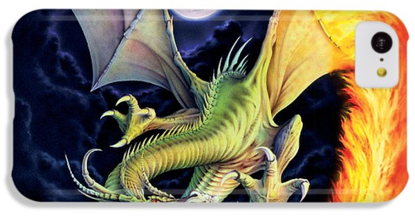 Dragon Fire IPhone 5c Case by The Dragon Chronicles