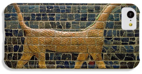 Dragon Of Marduk - On The Ishtar Gate IPhone 5c Case by Anonymous