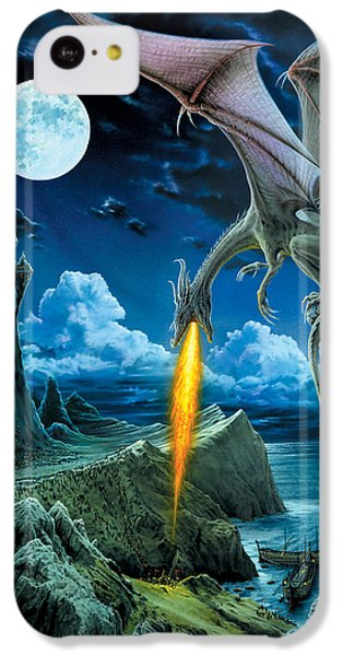 Dragon Spit IPhone 5c Case by The Dragon Chronicles - Robin Ko