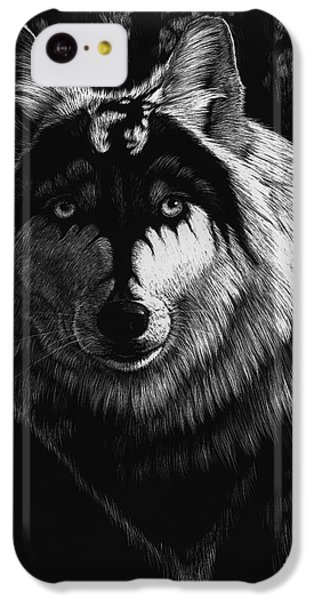 Dragon Wolf IPhone 5c Case by Stanley Morrison