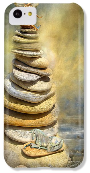 Dreaming Stones IPhone 5c Case by Carol Cavalaris