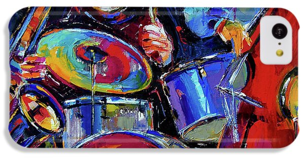 Drums And Friends IPhone 5c Case by Debra Hurd