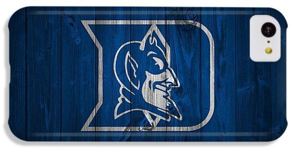 Duke Blue Devils Barn Door IPhone 5c Case by Dan Sproul