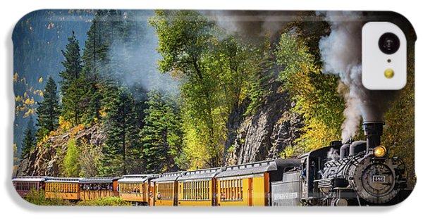 Durango-silverton Narrow Gauge Railroad IPhone 5c Case by Inge Johnsson