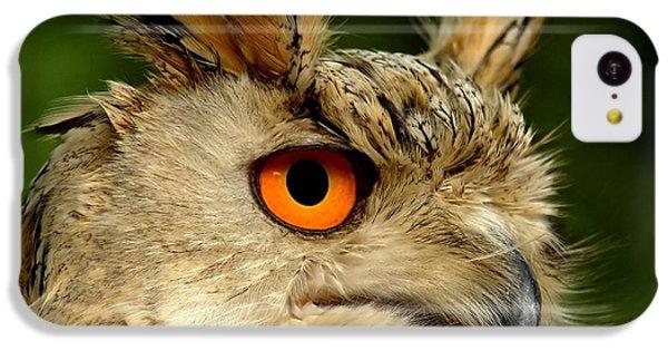 Eagle Owl IPhone 5c Case by Jacky Gerritsen