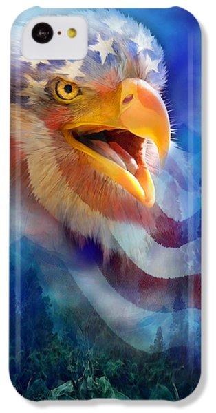Eagle's Cry IPhone 5c Case by Carol Cavalaris
