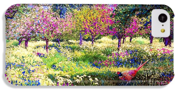 Echoes From Heaven, Spring Orchard Blossom And Pheasant IPhone 5c Case by Jane Small