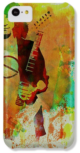 Eddie Van Halen IPhone 5c Case by Naxart Studio