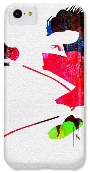Eddie Watercolor IPhone 5c Case by Naxart Studio