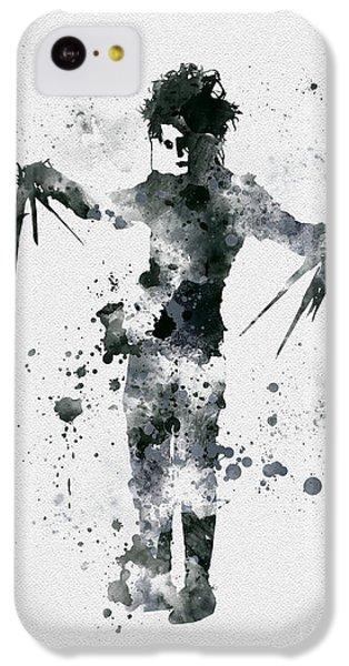 Edward Scissorhands IPhone 5c Case by Rebecca Jenkins