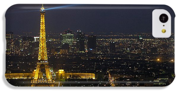 Eiffel Tower At Night IPhone 5c Case by Sebastian Musial