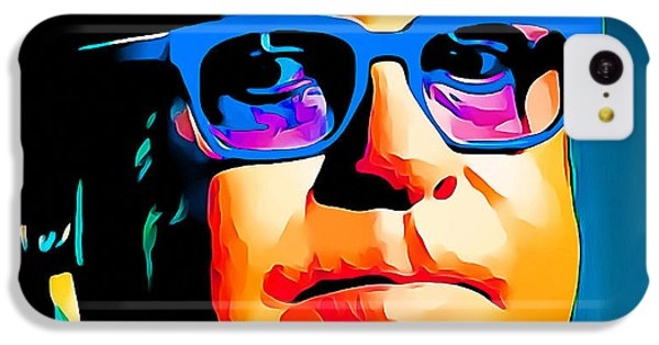 Elton John Blue Eyes Portrait IPhone 5c Case by Yury Malkov