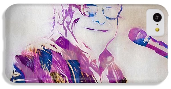 Elton John IPhone 5c Case by Dan Sproul
