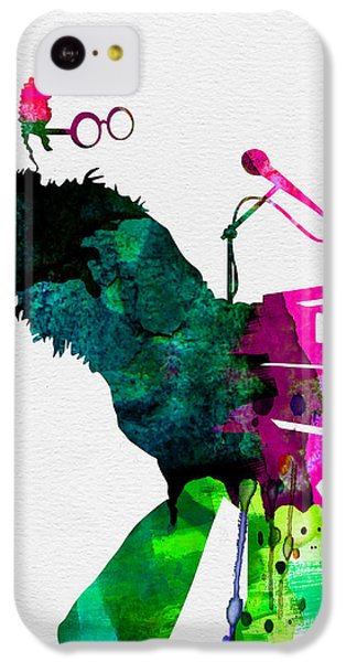 Elton Watercolor IPhone 5c Case by Naxart Studio