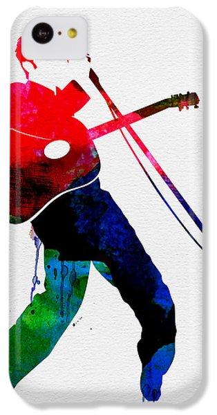 Elvis Watercolor IPhone 5c Case by Naxart Studio