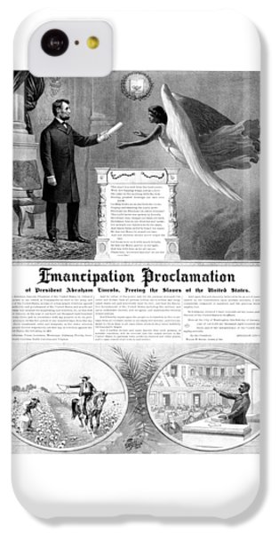 Emancipation Proclamation IPhone 5c Case by War Is Hell Store