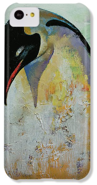 Emperor Penguin IPhone 5c Case by Michael Creese