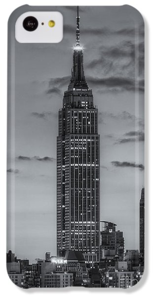 Empire State Building Morning Twilight Iv IPhone 5c Case by Clarence Holmes