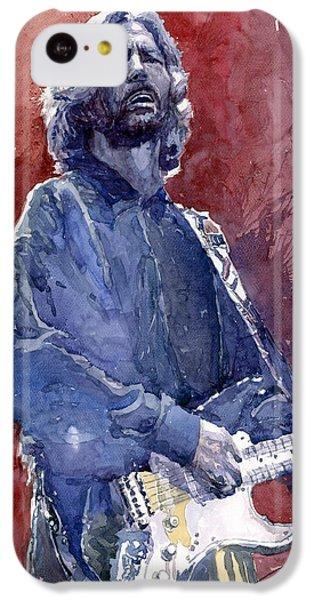 Eric Clapton 04 IPhone 5c Case by Yuriy  Shevchuk