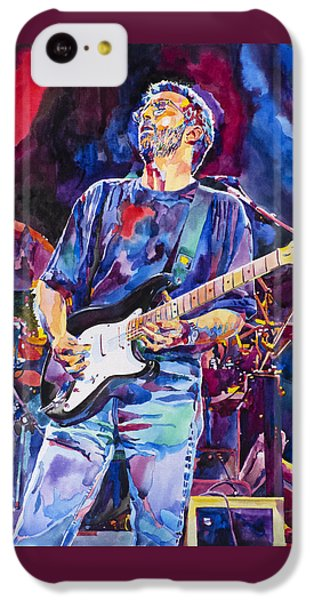 Eric Clapton And Blackie IPhone 5c Case by David Lloyd Glover