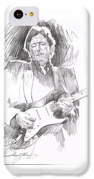 Eric Clapton Blackie IPhone 5c Case by David Lloyd Glover