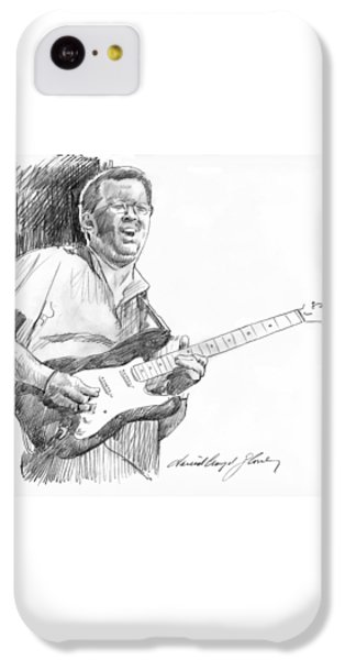 Eric Clapton Jam IPhone 5c Case by David Lloyd Glover