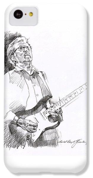 Eric Clapton Joy IPhone 5c Case by David Lloyd Glover