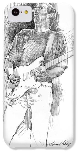 Eric Clapton Strat IPhone 5c Case by David Lloyd Glover