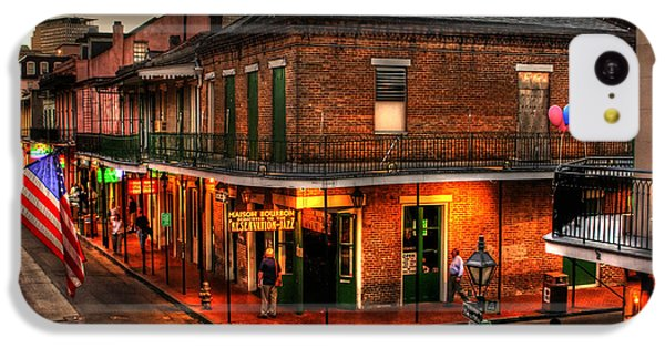 Evening On Bourbon IPhone 5c Case by Greg and Chrystal Mimbs