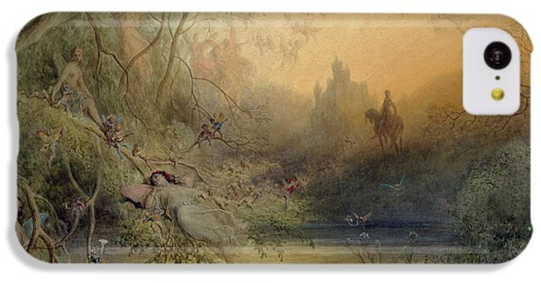 Fairy Land IPhone 5c Case by Gustave Dore